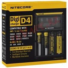 Nitecore D4 - зарядное устройство