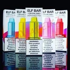 Banana Ice - Elf Bar Crystal 2500