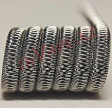 Staggered Fused Clapton - спираль