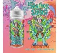 Ice Green Apple жидкость Sanchez Squad