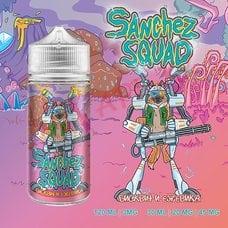 Бисквит и Ежевика жидкость Sanchez Squad