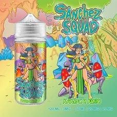 Кактус и Киви жидкость Sanchez Squad